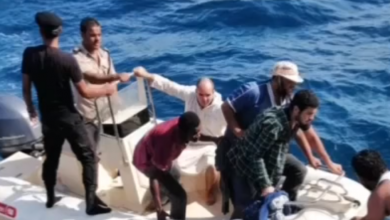 Photo of Libyan Coast Guard recued five immigrants and recovered three bodies