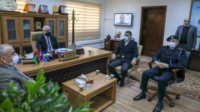 Photo of The Minister of Interior and the Vice President of the Customs Authority discussed protection of ports