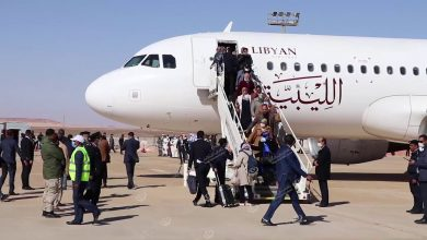 Photo of 113 members of the House of Representatives arrived in Ghadames
