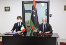 Photo of The Minister of Education signs MoU with the Italian Embassy