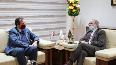 Photo of The Chairman of the National Oil Corporation and the UK ambassador to Libya discussed cooperation