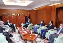 Photo of The Minister of Transport received the Italian Ambassador to Libya