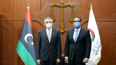 Photo of The Minister of Justice met with the Italian ambassador to Libya