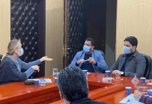 Photo of WHO Representative in Libya visits the Libyan Food and Drug Control Center