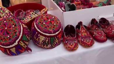 Photo of A bazaar opened in Ghadames city