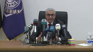 Photo of The Minister of Interior held a press conference