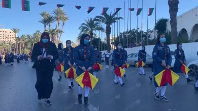 Photo of Tripoli Scout and Girl Guides Movement celebrated the 10th anniversary of the February 17 revolution