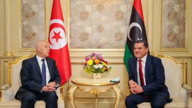 Photo of Prime Minister of GNU and Tunisian President met in Tripoli