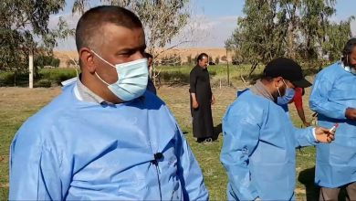 Photo of A campaign to fight foot and mouth disease in Bani Walid