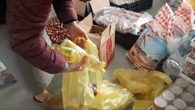 Photo of Food aid distributed to families with limited income in Bani Walid