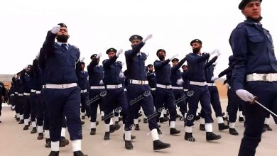 Photo of Graduation ceremony of the third batch of police personnel in Nalut