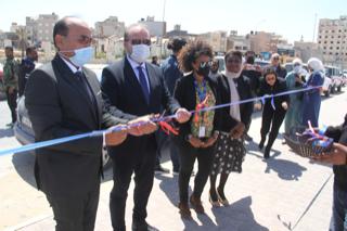 Photo of UNDP reconstructed Benghazi corniche