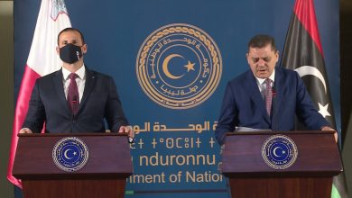 Photo of The Prime Ministers of Libya and Malta held a joint press conference in Tripoli