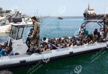 Photo of 108 irregular migrants rescued off the coast of Al-Zawiya