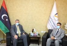 Photo of The Head of HNEC met with the UN envoy to Libya