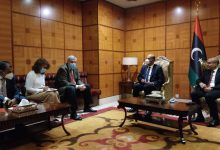 Photo of The Head of UNSMIL met in Tripoli two Presidential Council members